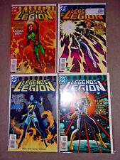 DC Legends of the Legion 4 Part Series 1998 COMPLETE Set Full Run Comic Lot #1-4
