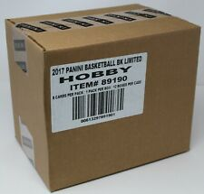 2016-17 Panini Limited Basketball Factory Sealed 12 Box Case