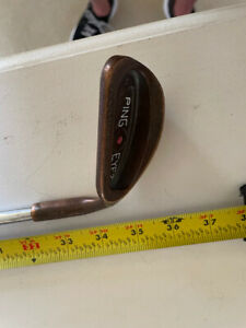 ping eye 2 BC sand wedge with new Ping/Nippon shaft and new Drytec grip