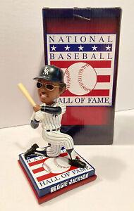 REGGIE JACKSON New York Yankee Cooperstown Hall of Fame 2020 Bobblehead, MLB