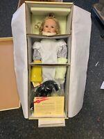 Ute Kase Lepp Porzellan Künstlerpuppe Puppe 70 cm. Ovp & Zertifikat.Top Zustand