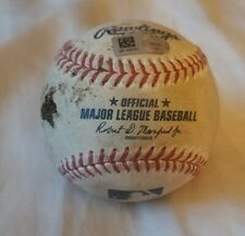 8/19/20 Los Angeles Angels Vs San Francisco Giants Game Used Ball Chad Tromp