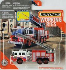 Matchbox Working Rigs Pierce Quantum Aerial Ladder Fire Truck