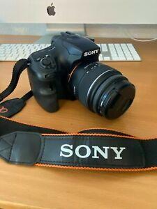 Sony Alpha A65  (SLT-A65V)  24.3MP with 18-55mm