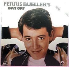 """LD LASERDISC """"Ferris Bueller's Day Off"""" Movie Extended Play LV 1890"""