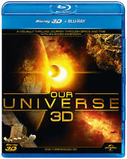 Our Universe 3D (3D Edition with 2D Edition) [Blu-ray]