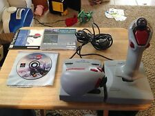 Ace Combat 2 Game+ Playstation Flight Force Pro - Programmable Flight Controller