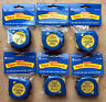 Tape Measures, Steel, Set of 6, Customary & Metric, Learning Resources LER4289