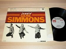 JUMPIN' GENE SIMMONS LP - HAUNTED HOUSE / FIRST MONO ROCKABILLY in MINT-