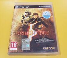 Resident Evil 5 Gold Edition GIOCO PS3 VERSIONE ITALIANA