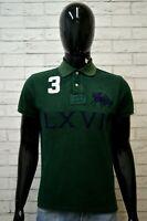 Polo Maglia Uomo RALPH LAUREN Taglia S Maglietta Manica Corta Shirt Man Slim