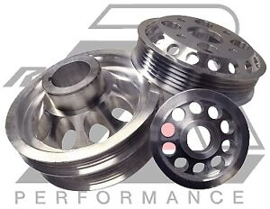 Ralco RZ 914860 Performance Pulleys fit Infiniti FX35 And Nissan G35 350Z