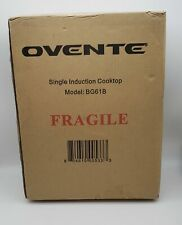 Ovente Induction Countertop Burner, Cool-Touch Ceramic Glass Cooktop
