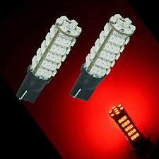 2x 68 1210 3020 SMD LED Sidelight Turn Signal Light bulbs T10 501 W5W RED P3