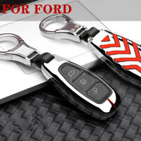 Zinc Alloy Car Key Case For Ford Fiesta Focus 3 4 Mondeo Ecosport Kuga Fiesta ST