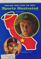 MAY 3 1971 - SPORTS ILLUSTRATED vintage magazine - MLB - ATHLETICS
