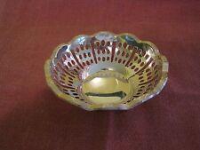 """EDWARDIAN era 3.5"""" Silver Bon Bon nut basket w/ WMF beehive ostrich mark 1909-14"""