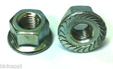 """PAIR OF 5/16"""" TRACK NUTS NON SPIN IN SILVER"""