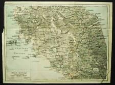 BERTARELLI.Topografia=ITALIA CENTRALE-TOSCANA-LAZIO1907