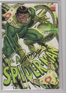 Marvel's Amazing Spider-Man #800 Campbell Doctor Octopus Signed Variant NM