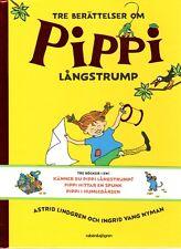 Buch Astrid Lindgren SCHWEDISCH Pippi Langstrumpf Långstrump 3 Bücher Känner NEU
