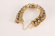 Vintage Costume Clear Cubic Diamond Bracelet