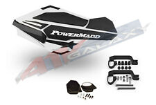 PowerMadd SENTINEL Handguard Hand Guards Mirror KIT White Polaris ATV 34408