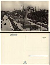 CONSTANTINOPLE KONSTANTINOPEL ISTANBUL - Hippodromplatz - sw-Foto-AK um 1930