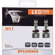 SYLVANIA - H11 ZEVO FOG LED Fog Lights Bright White LED Light Output, 2 Bulbs