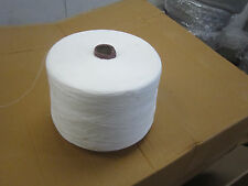 Large Yarn Cone Bleached Cotton