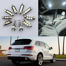 NEWEST Premium White Light Interior LED Package 15x for Audi Q7 2007-2013 L7