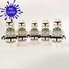[Pre-Loved] Genuine LEGO Star Wars 5 x Clone Trooper Minifigures