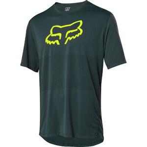 NEW Fox Racing Ranger SS Men's Short Sleeve MTB Cycling Jersey Emerald XLarge