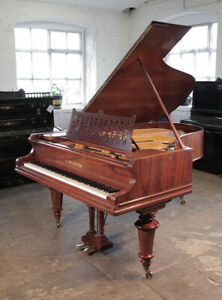 Restored, 1895, Bechstein Model VA grand piano with in rosewood. 3 year warranty