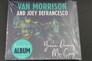 Van Morrison And Joey DeFrancesco – You're Driving Me Crazy (CD) (Neu+OVP)