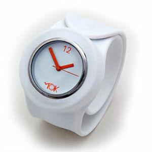 OFFICIAL TICK TOK SLAP BANDZ WATCHES Original Snap on Wrist Band Watch
