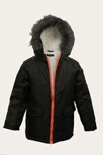 Manteaux, vestes et tenues de neige noires polaires polaire pour garçon de 2 à 16 ans
