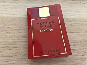 Estee Lauder MODERN MUSE LE ROUGE Eau De Perfume .05 fl oz Spray Sample Vial