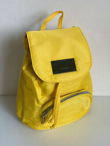 NEW! STEVE MADDEN YELLOW BCYRUS CONVERTIBLE BACKPACK SLING BODY BAG $88 SALE