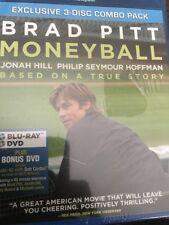 Moneyball  (Bluray / DVD Exclusive 3 Disc Set)  Brand New