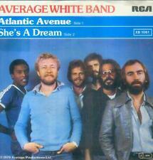 "7"" AVERAGE WHITE BAND/ATLANTIC Avenue (D) RCA plattenpass"