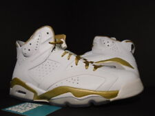 Nike Air Jordan VI 6 Retro GMP GOLDEN MOMENT GOLD MEDAL PACK WHITE INFRARED 10.5