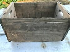 Rare Historic Evansville Ind Late 1800s Beer Crate Cook Brewing Co