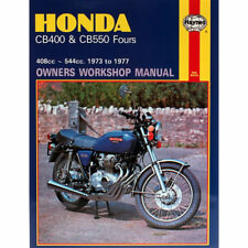 Honda CB400F CB550F Fours 1973-1977 Haynes Workshop Manual
