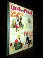 """""""CUENTOS de PERRAULT"""" Contes dessin Enfantina ca1930 !"""