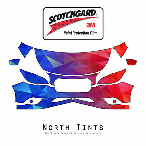 PreCut 3M Scotchgard Paint Protection Clear Bra Kit for Subaru Legacy 2015-2017