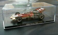 Modellino 1/43 Lotus 72C Rba Formula 1 macchinina macchina die cast uno 72 C