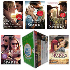 Nicholas Sparks 5 Books Collection Set Gift Wrapped Slipcase NEW See Me,Lucky On