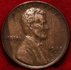 1925-D Denver Mint Copper Lincoln Wheat Cent