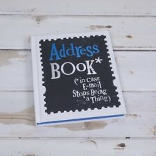 Bright side address book - for Friends-man or woman birthday